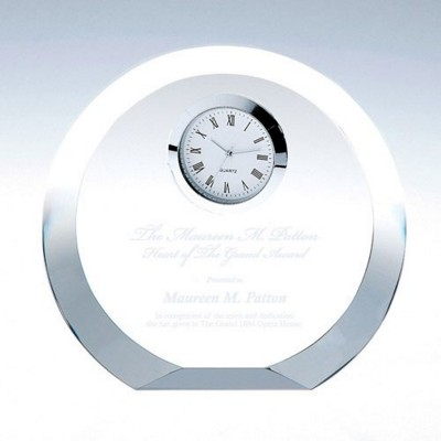 Picture of GLASS CIRCLE CLOCK