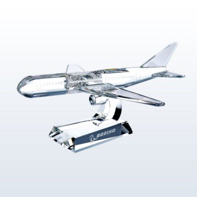 Picture of OPTIC CRYSTAL AEROPLANE MODEL AWARD