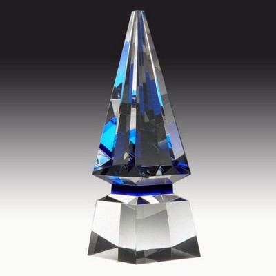 Picture of BLUE SPIRE GLASS AWARD