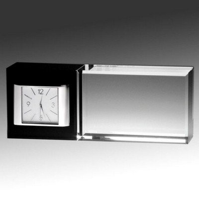 Picture of BEST WISHES GLASS CLOCK