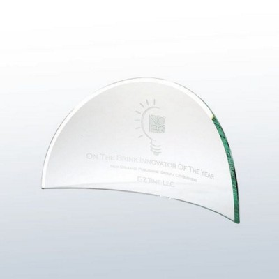 Picture of BEVELLED MOON GLASS AWARD