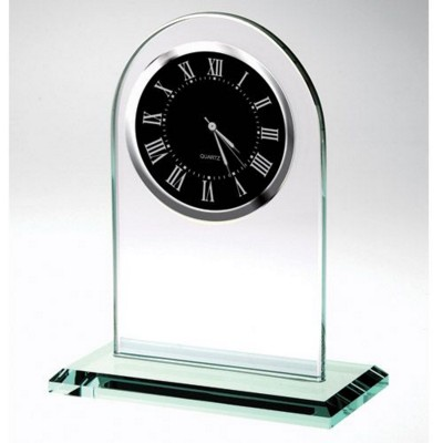 Picture of BLACK MOVEMENT GLASS CLOCK