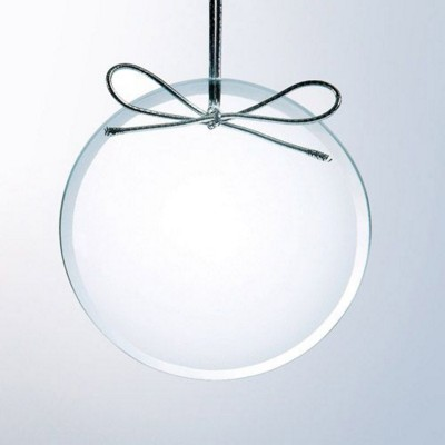 Picture of CLEAR GLASS ROUND ORNAMENT