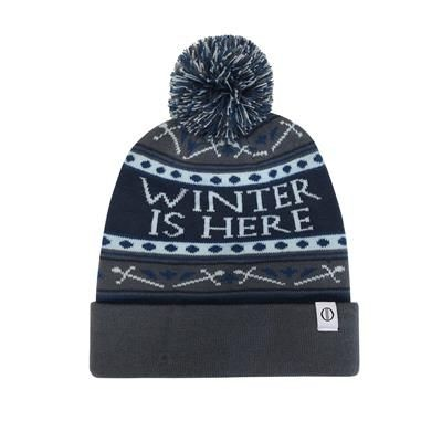 Picture of ACRYLIC PULL UP BEANIE with Bobble