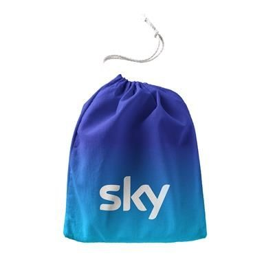 Picture of CUSTOM SUBLIMATED PRINTED DRAWSTRING BAG