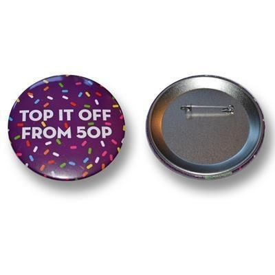 Picture of 77MM BUTTON BADGE