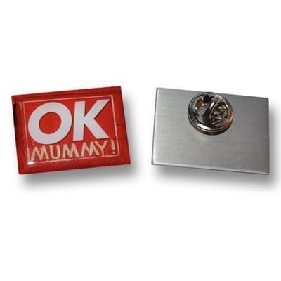 Picture of PRINTED METAL BADGE - 30MM