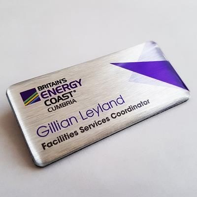 Picture of PRINTED PVC NAME BADGE