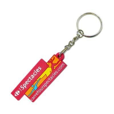 Picture of 2D PVC BESPOKE KEYRING