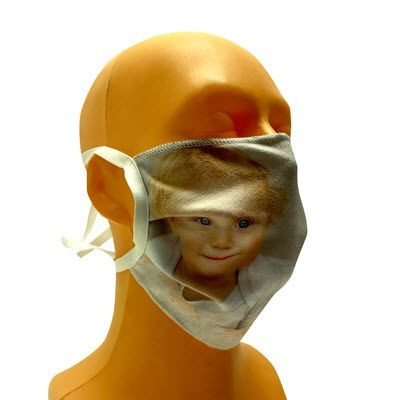 Picture of MICROFIBRE PPE FACE MASK with Full Colour Print