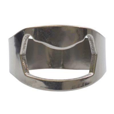 Picture of NOVELTY FINGER RING BOTTLE OPENER in Silver