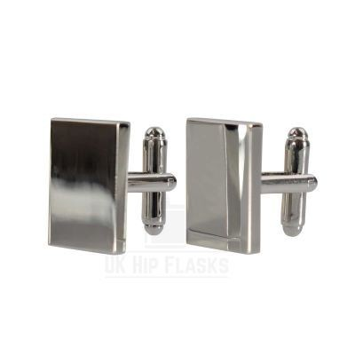Picture of RECTANGULAR CUFF LINKS in Silver