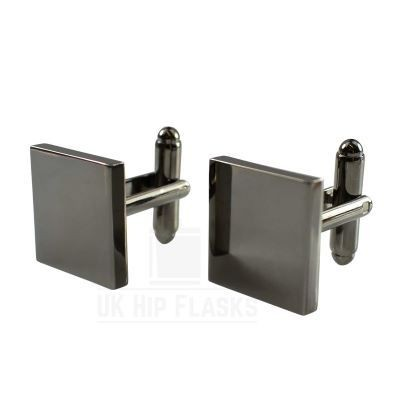 Picture of SQUARE CUFF LINKS in Black