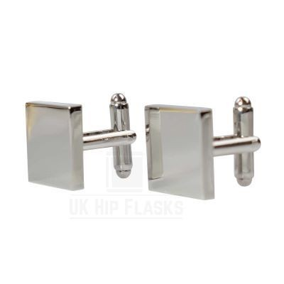 Picture of SQUARE CUFF LINKS in Silver