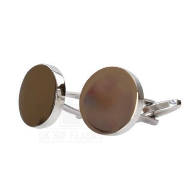 Picture of ROUND CUFF LINKS in Silver