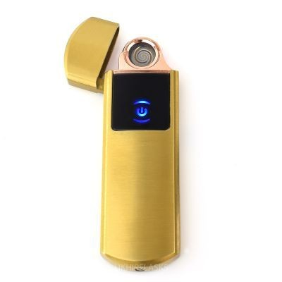 Picture of ROUNDED USB LIGHTER in Gold