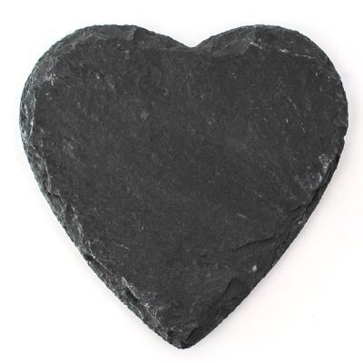 Picture of SLATE COASTER - HEART