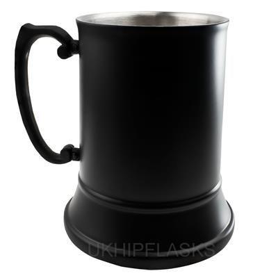 Picture of STEEL TANKARD 480ML in Black