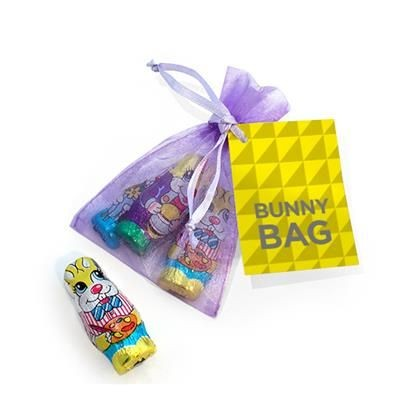 Picture of ORGANZA BUNNY RABBIT BAG