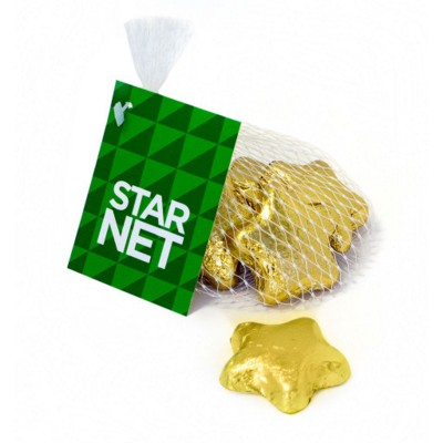 Picture of CHOCOLATE STARS NET