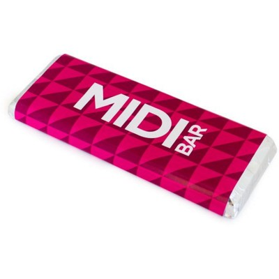 Picture of MIDI FOILED CHOCOLATE BAR