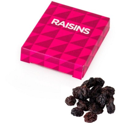 Picture of RAISINS in Printed Box: Minimum Quantity: 100