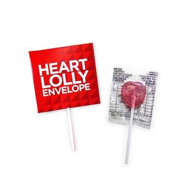 Picture of HEART LOLLY ENVELOPE