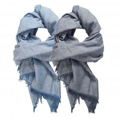 Picture of SOPHY SCARF LOOK DENIM