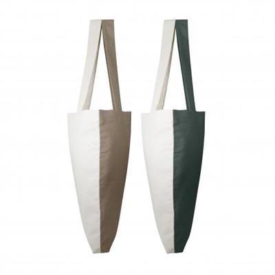 Picture of VISVERSA TWO-COLOUR SHOP BAG
