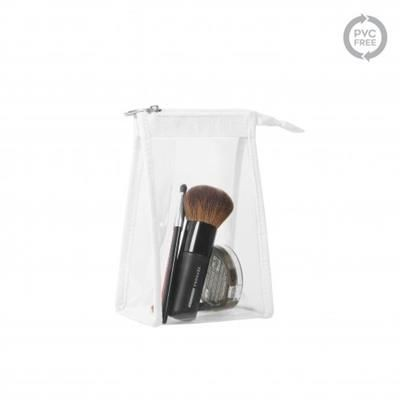 Picture of MINCLEAR TRAVEL OR COSMETICS POUCH with White Piping