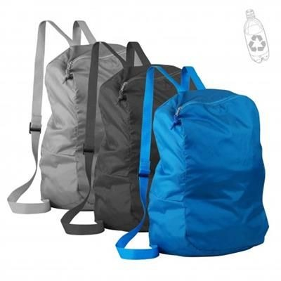 Picture of KEYPACK II FOLDING BACKPACK RUCKSACK in Its Inside Pocket with Carabin
