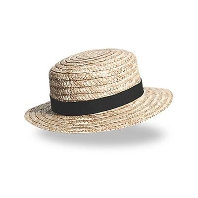Picture of BOATER GOLDEN STRAW HAT