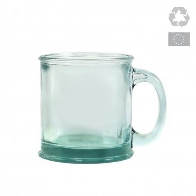 Picture of GLOSSY RECYCLED GLASS MUG - 350 ML