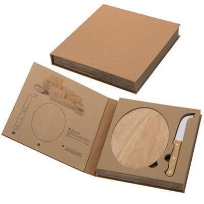 Picture of GOUDA CHEESE CHOPPING BOARD AND KNIFE SET