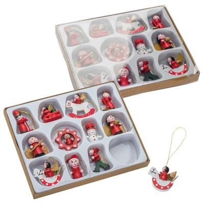 Picture of 12-PIECES CHRISTMAS TREE DECORATION