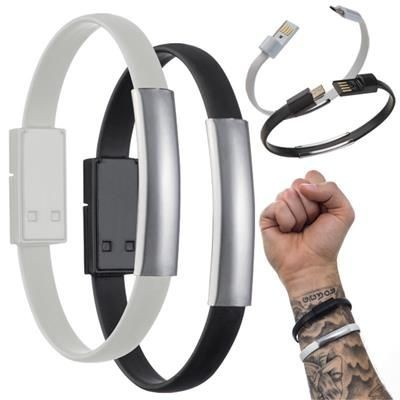 Picture of LE PORT SILICON BRACELET with Data Cable