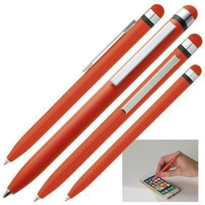 Picture of NOTTINGHAM BALL PEN with Touch-Pen in Red