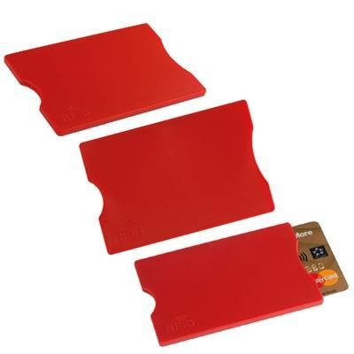 Picture of CANTERBURY RFID CARD CASE in Red