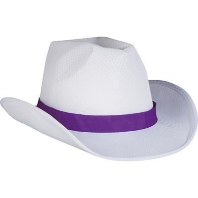 BALDWIN HAT in Purple