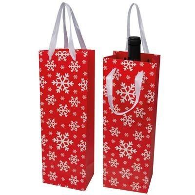 Picture of WINE BAG in Christmas Design