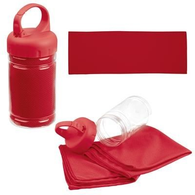 Picture of SPORTS TOWEL SPORTY in Red