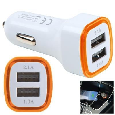 Picture of USB CHARGER ADAPTER KFZ FRUIT in Orange
