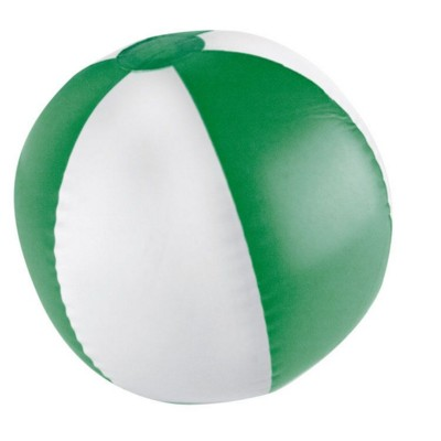 Picture of KEY WEST BICOLOUR BEACH BALL in Green & White