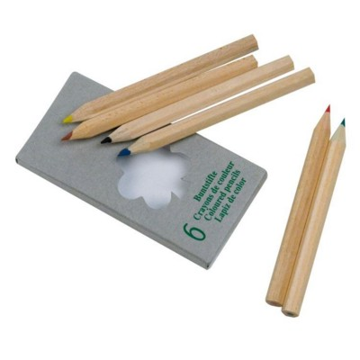 Picture of MINNIE WOOD CHILDRENS COLOURING PENCIL SET