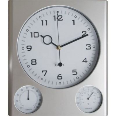 Picture of DEN HAGG PLASTIC WALL CLOCK in Grey
