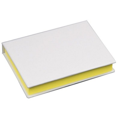 Picture of PALMA ADHESIVE NOTE PAD & INDEX SET in White