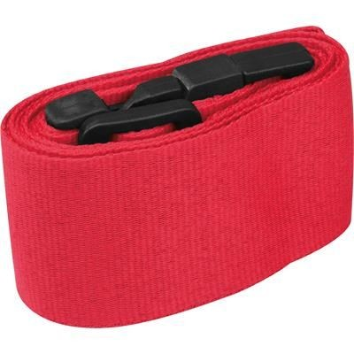 Picture of ADJUSTABLE LUGGAGE STRAP MOORDEICH in Red