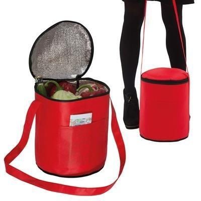 Picture of ALCUDIA COOL BAG in Red