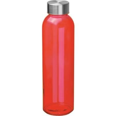 Picture of GLASS BOTTLE INDIANAPOLIS in Red