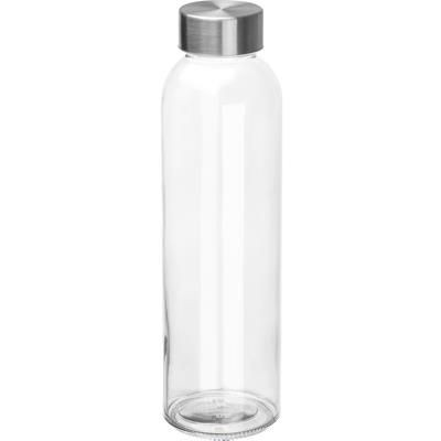 Picture of GLASS BOTTLE INDIANAPOLIS in Clear Clear Transparent Clear Transparent